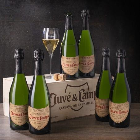 Caja 6 botellas Juve &...