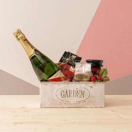 Пакет шампанского и шоколада