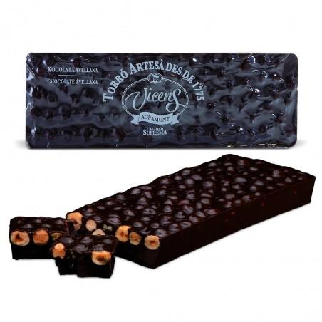 Nougat amer au chocolat aux...
