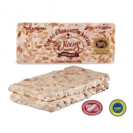 Almond Hard Nougat 300gr
