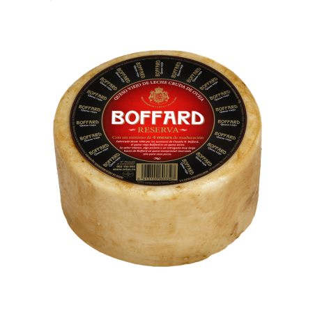 Cheese Boffard sheep milk...