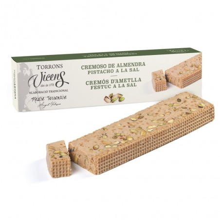Creamy Almond Nougat with...