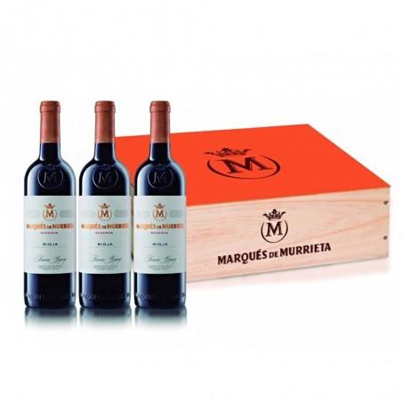 Caixa de Madeira com 3...