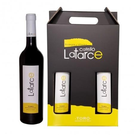 Caixa de 3 garrafas Latarce...