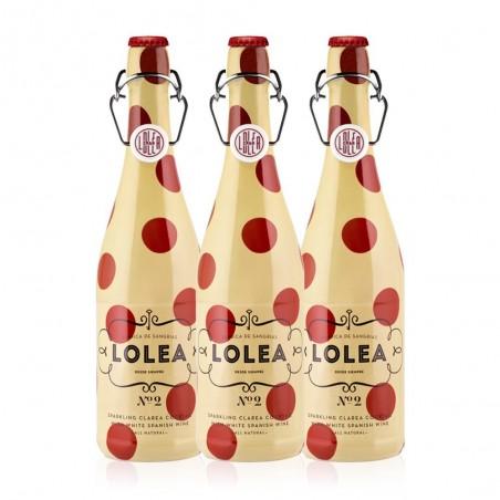 Sangria LOLEA weiße Flasche...