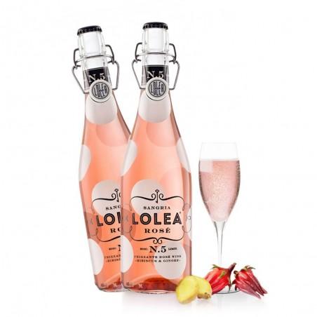 Sangría LOLEA Rosé bottle...