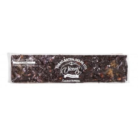 Соленая нуга с шоколадной...