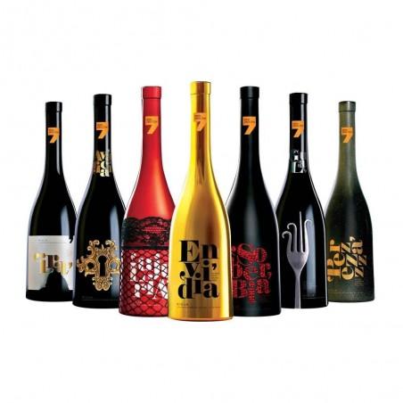 7 Pecados - Caisse de vin...
