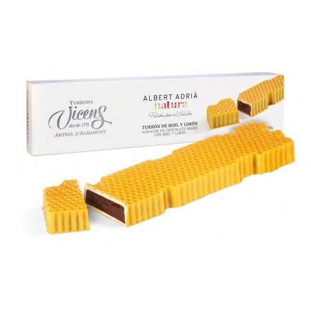 Honig Nougat mit Zitrone 300gr