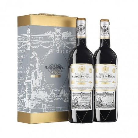 Case of 2 Bottles Marqués...
