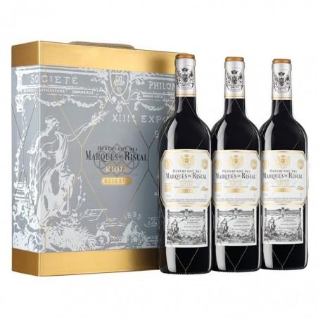 Ящик из 3 бутылок Marqués...
