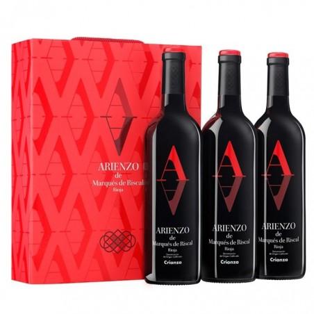Ящик из 3 бутылок Arienzo...
