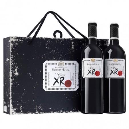 Ящик из 2 бутылок Marqués...