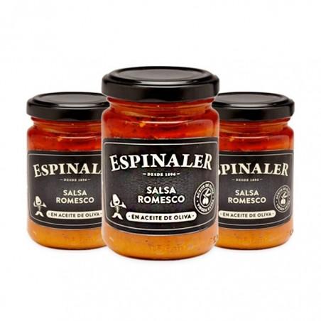 Pack of 3 Jars of Romesco...