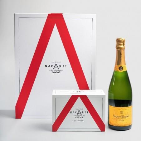 Caixa de champanhe Nacarii...