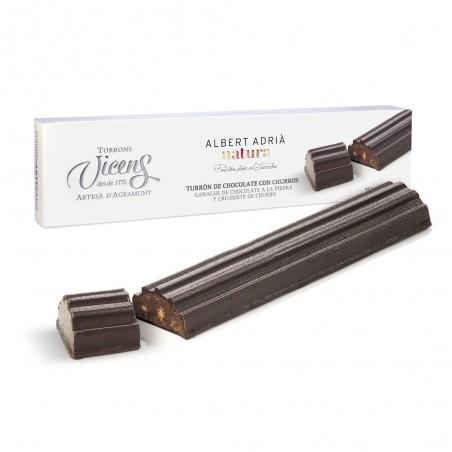 Нуга чуррос с шоколадом 300гр