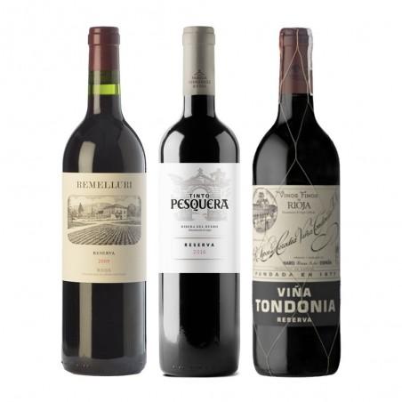 Резервный набор вин...