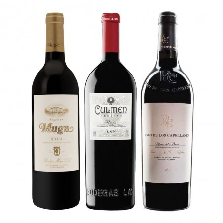 Pack de vins de réserve...
