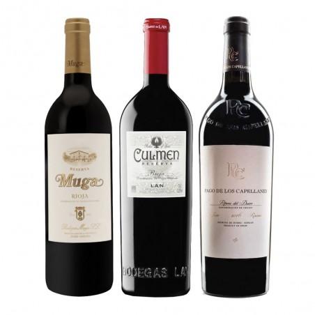 Pacote de Vinhos Reserva...