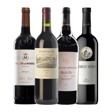 """Pacote de Vinhos """"Rioja e..."""