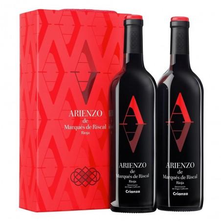 Ящик с 2 бутылками Arienzo...